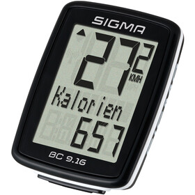 SIGMA SPORT BC 9.16 Bike Computer with wire